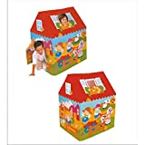 Toyboy Beautiful Print Play Tent House For Kids - Mult