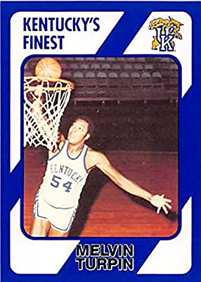 Melvin Turpin Basketball Card (Kentucky Wildcats) 1989 Collegiate Collection #132