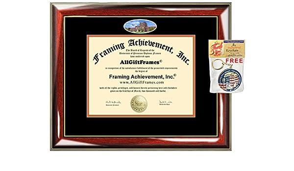 Amazon.com: University of Tennessee Knoxville Diploma Frame UTK ...