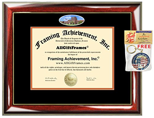 University of Tennessee Knoxville Diploma Frame UTK Degree School Fisheye Picture Custom Frames Certificate Double Mat Framing Graduation Gift Campus Bachelor Master Doctorate PHD (Diploma Doctorate Frame)