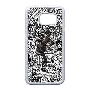 Samsung Galaxy S6 Edge Case (TPU),Samsung Galaxy S6 Edge Cell phone case White for my chemical romance - KKHG5334019