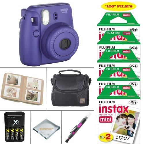 Fujifilm Mini Instant Camera Grape