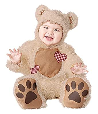 California Costumes Baby's Cuddly Bear Infant, Warm Brown, 18-24