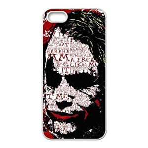 The Joker iPhone 4 4s Cell Phone Case White Exquisite gift (SA_594359)