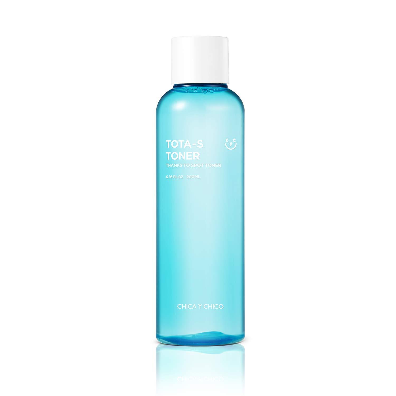 [CHICAYCHICO]Tota-s toner, calming, mild, sensitive skin, acidulous, ph balance, EWG green grade, no scent, 200ml, 6.67oz. …