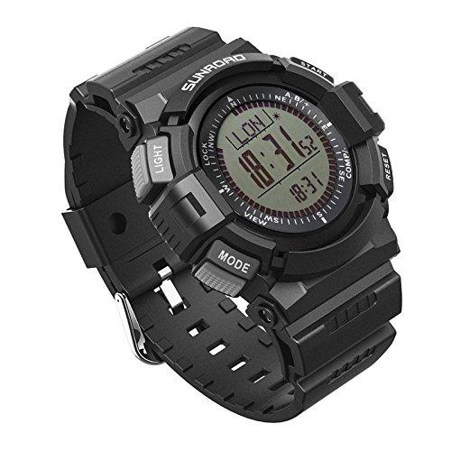 FR821A 3ATM Waterproof Altimeter Compass Stopwatch Fishing Barometer Altimeter Watch