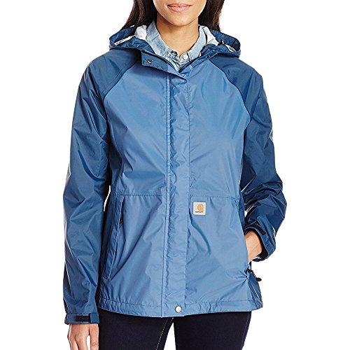 Carhartt Women's Mountrail Jacket, Stream Blue, Medium (Shoreline Blue Jackets)