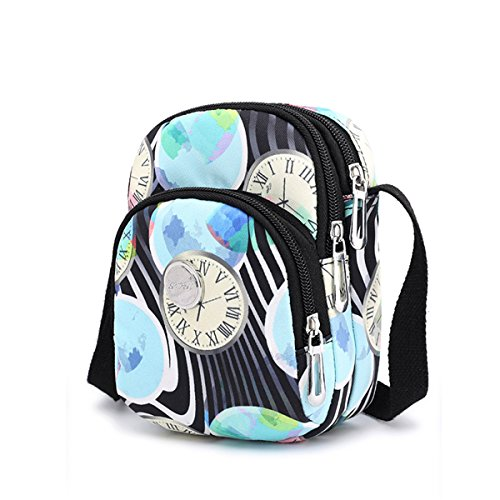 and Small Nawoshow Messenger Women Purse Crossbody Clocks Bag Bag Bag Shoulder Canvas Girls for PBqwaxnBd