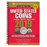 img - for 2019 Official Red Book of United States Coins - Large Print Edition (Guide Book of United States Coins) book / textbook / text book
