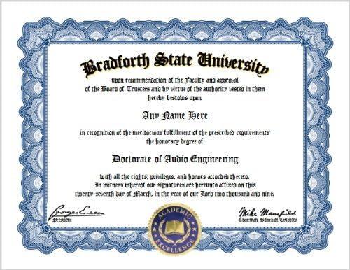 Amazon Com Audio Engineering Diploma Sound Engineer
