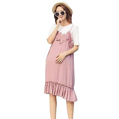 97d3f2011d3 Nat Terry Pregnancy Woman 2Pcs Elegant Dress