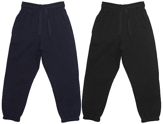 Get Wivvit Niña Negro Cordón a la Cintura Pantalones Joggers ...