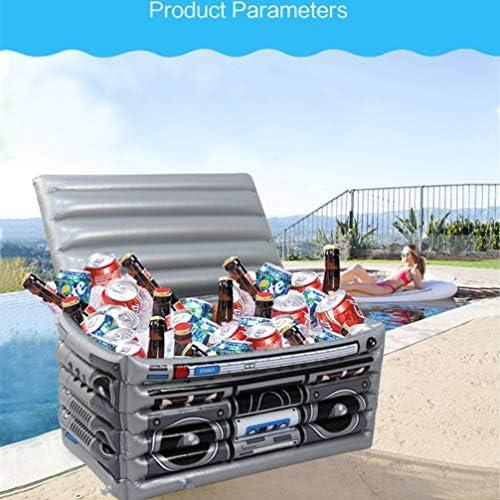 BESPORTBLE Aufblasbarer Kühler Pool Getränkehalter Dekorative Eiskübel Tropischen Pool Spielzeug für Picknick Strandreise Trip Schwimmen