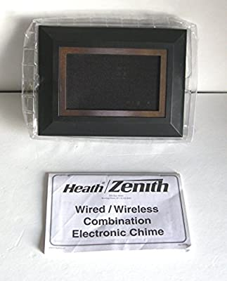Wired/Wireless Designer Door Chime-Heath Zenith-DC-3361 by Heath Zenith