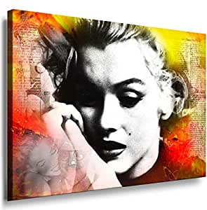 Art On Canvas - Frame 100x70x2cm Marilyn Monroe 5019