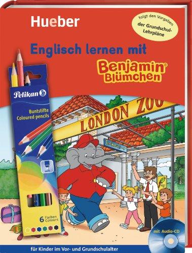 Englisch lernen mit Benjamin BlümchenT. Für Kinder im Vor- und Grundschulalter: Englisch lernen mit Benjamin Blümchen: für Kinder im Vor- und Grundschulalter / Buch mit Audio-CD