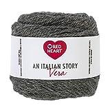 Red Heart Italian Story Vera - Ovillo de lana, Pietra, 1, 1