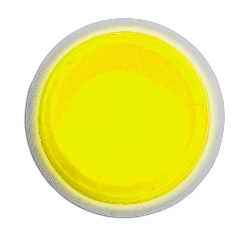 Cyalume ChemLight Military Grade LightShape Circle Marker, Yellow, 4 Hour Duration (Pack of 10) 9-42710PF