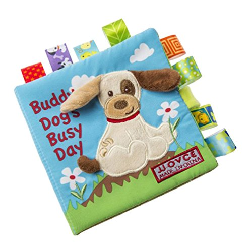 [Baby Toys Cloth Books Learning Education Unfolding Activity Books Animal Style (Dog)] (Car Costume Cardboard Box)