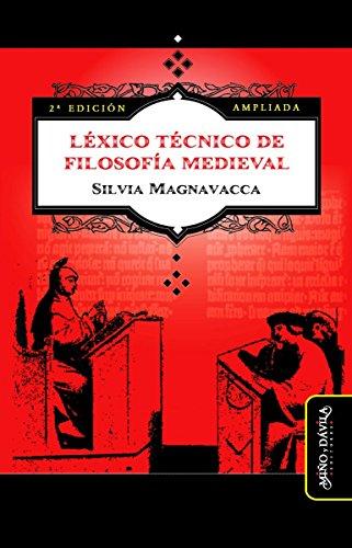 Léxico Técnico de Filosofía Medieval (Segunda Edición Ampliada) (Spanish Edition)
