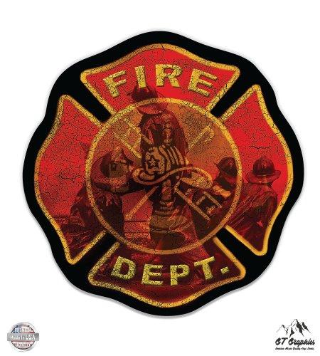 Fire Department Maltese Cross - 3