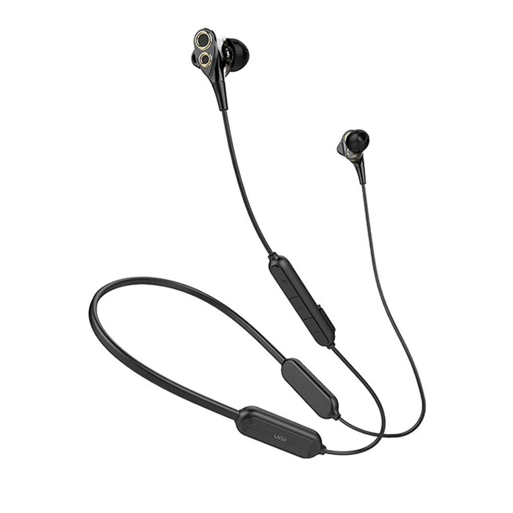 UiiSii BN80 Wireless Bluetooth Headset Dynamic Earbud in-Ear Earphone 250mAh Battery IPX5 Waterproof Headphone