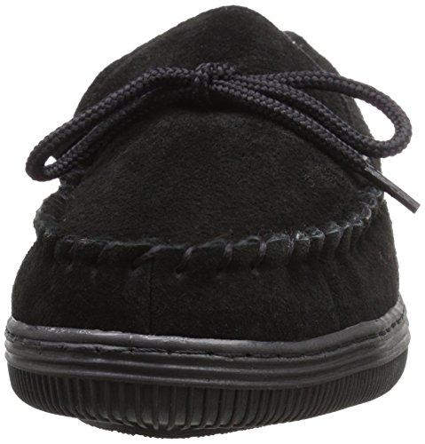 Lamo Mens Lamo Black On Loafer Plaid Slip Mens Moccasins B4fHnB7