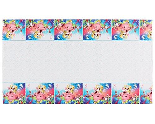 American Greetings SpongeBob SquarePants Plastic Table Cover, 54