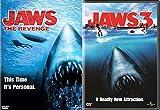 Jawbreaker Bundle - JAWS 3 & Jaws The Revenge DVD Movie Double Feature Horror