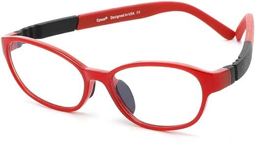 Cyxus Blue Light Glasses For Girl,UV Blocking Anti Eyestrain [Flexible Lightweight] Clear Lens Computer Gaming Eyewear