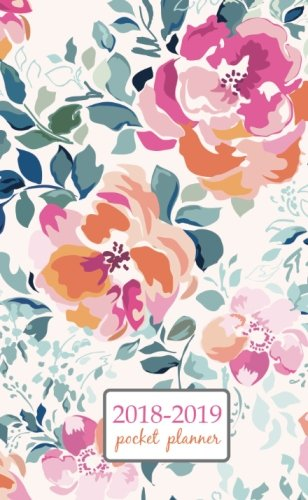 2018-2019-pocket-planner-2-year-pocket-monthly-calenda-planner-4-x-6-5-inch-soft-pink-watercolor-flower-floral-design-volume-39
