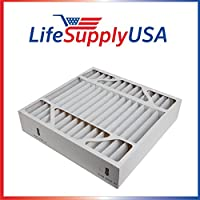 Air Filter 20 x 20 X 5 MERV 8 fits Lennox X0585 BMAC-14CE and HCC14-23 20x20x5 by LifeSupplyUSA