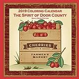 2019 Coloring Calendar: The Spirit of Door County Small Book Edition (Anti-Stress Coloring Calendar)