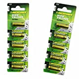 A23 Battery 12V Alkaline Battery 23A 12 Volt 10pcs Batteries