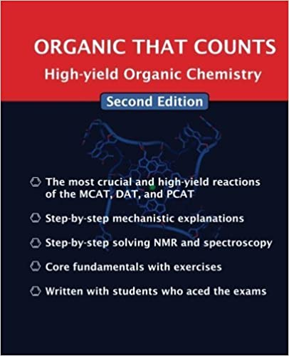 Book Organic That Counts: High-yield Organic Chemistry by D C Harris PhD (2014-05-30)