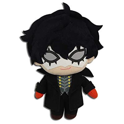 "Great Eastern Entertainment Persona 5 Protagonist Joker Phantom Thief Plush, 8"" H, Multicolor: Toys & Games"