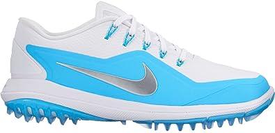 2e8eb973928b9e Image Unavailable. Image not available for. Color  Nike Lunar Control Vapor  2 Golf Shoes 2017 Women White Metallic Silver Blue Fury