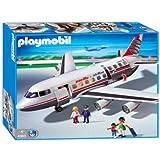Playmobil - 4310 - Jeu de construction - Commandant / passagers / avion