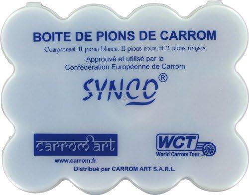 Carrom Arte - CBS8 - Juegos de Estrategia - Campeón de Carrom - Acacia [Importado de Francia]: Amazon.es: Juguetes y juegos