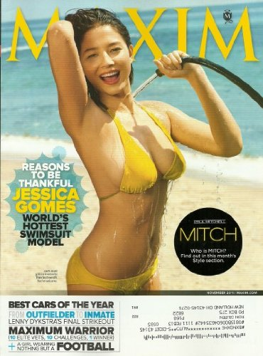 Maxim Magazine November 2011 Jessica Gomes: World's Hottest Swimsuit Model