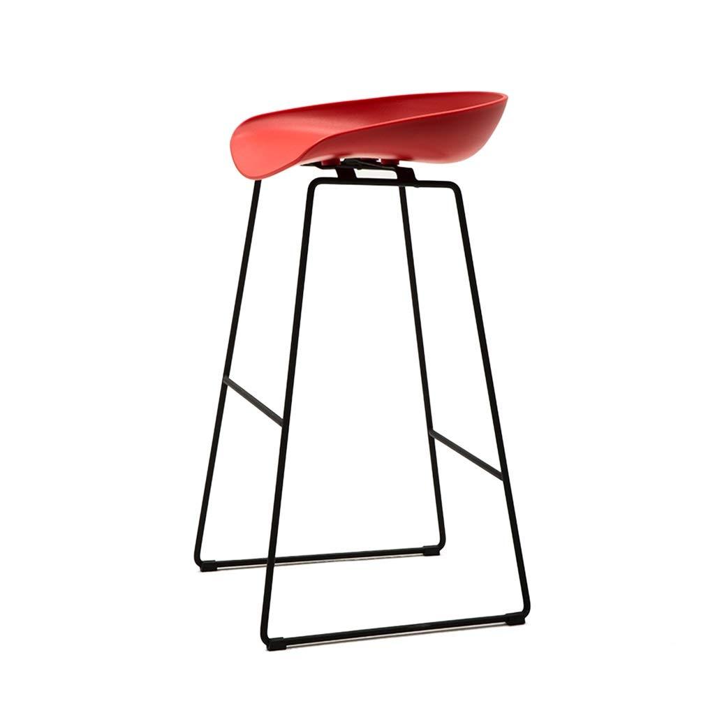 ラウンジチェア、アイアンブラケットコーヒーショップバーカウンタークリエイティブバースツールきれいに滑り止め滑り止めマットデザインハイチェア (色 : F f, サイズ さいず : 75 cm 75 cm) 75 cm 75 cm F f B07S8WTJNZ