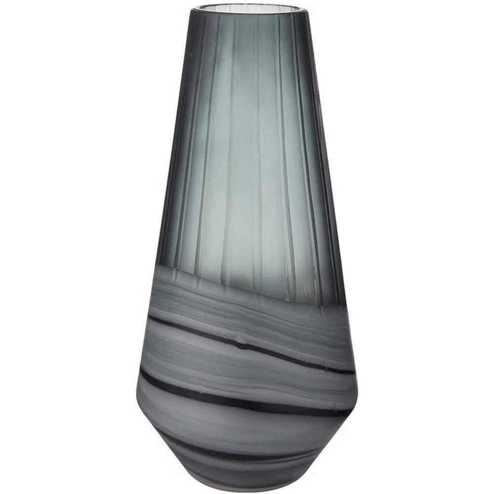 色ガラス花瓶用花緑植物結婚式の植木鉢装飾ホームオフィスデスク花瓶花バスケットフロア花瓶 (パターン : B) B07R1V48SY  B