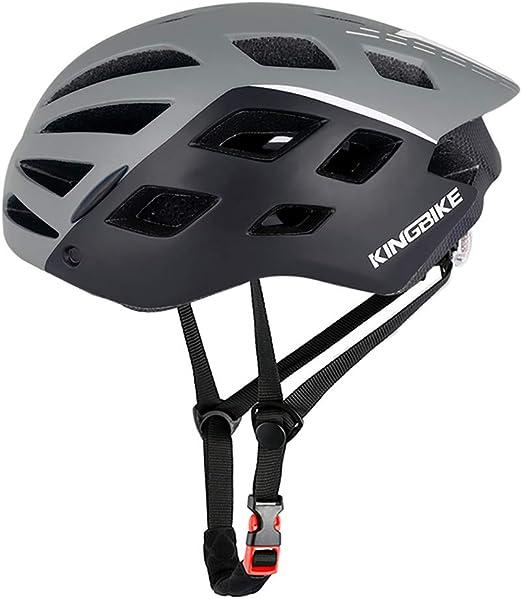 John-L Casco Bicicleta Montaña, Casco Bicicleta Carretera con ...