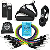 Tribe 11PC Premium Resistance Bands Set, Workout Bands - with Door...