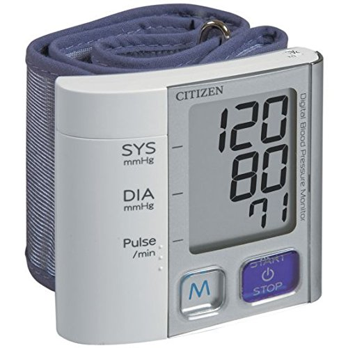Physical Therapy Aids 081544691 Citizen CH-657 Wrist Digital Blood Pressure Moniter