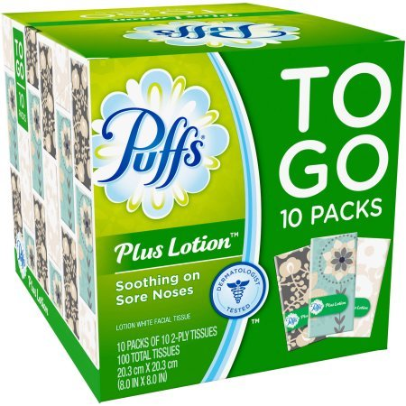 Puffs Lotion Facial Tissues Packs