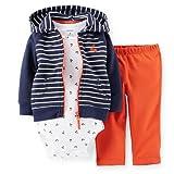 Carters Baby Girls Whale 3-Piece Cardigan Set