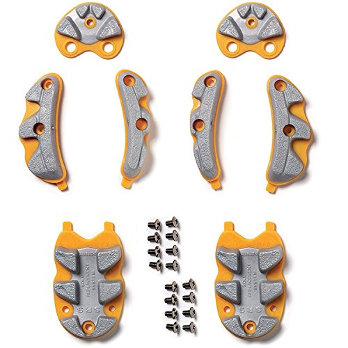 Sidi Srs Sole Replacement - SRS REPLACEMENT SOLES FOR OLDER SPIDER GREY/YELLOW 41-44