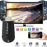 Mirascreen Anskp ドングルレシーバー 5G 1080P HDMI DLNA ワイヤレス ミラーキャスト スマートフォン/タブレット向け ミラーリング WIFIディスプレイ iPhone Android windows Mac OSX 対応