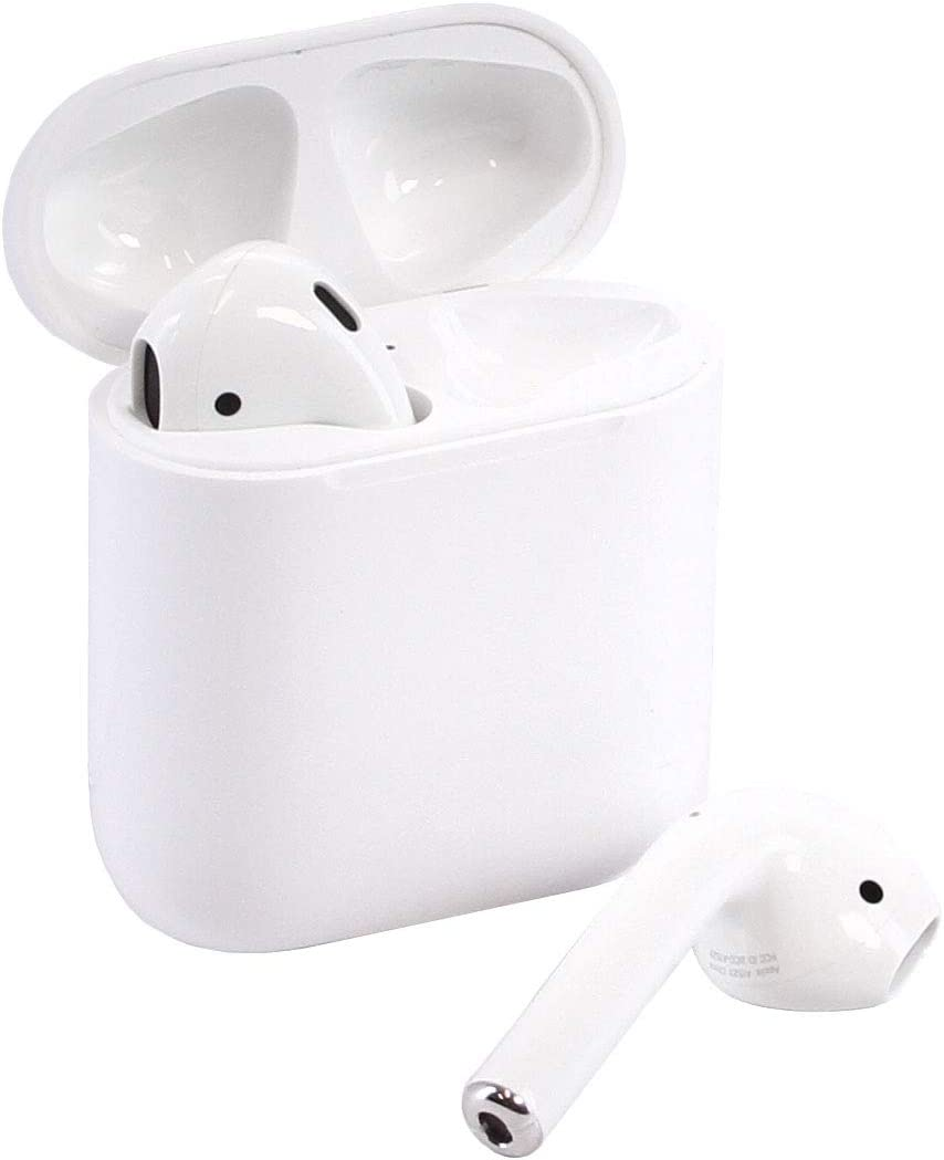 Apple Airpods Wireless Bluetooth In-Ear Headset w Charging Case MMEF2AM A Renewed